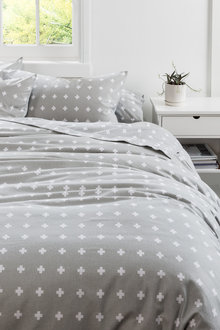 Flannelette Duvet Cover Set