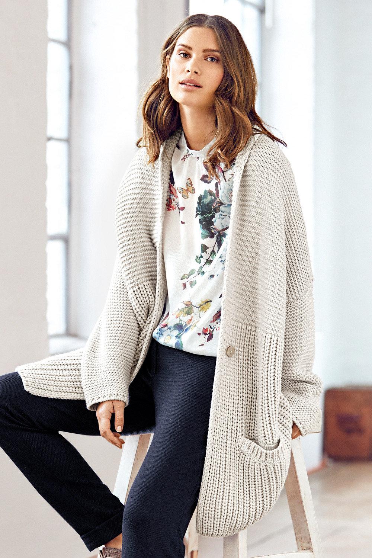 97e459c45e Heine Oversized Knitted Cardigan Online