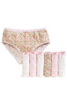 Next Floral Briefs Seven Pack (1.5-16yrs)
