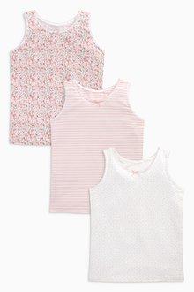 Next Vests Three Pack (1.5-16yrs)