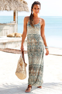Urban Printed Maxi Dress - 188001
