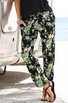 Urban Floral Print Pants