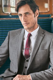 Next Travel Suit: Jacket Tailored Fit - 188154