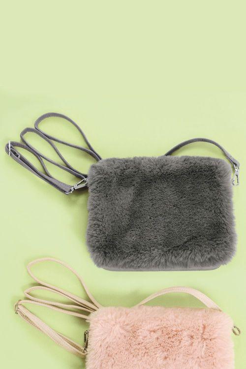 dc35eb6b25 Next Faux Fur Across Body Bag Online