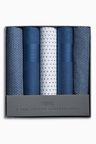 Next Printed Handkerchiefs Five Pack