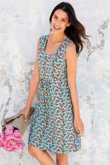 Urban Sleeveless Printed Dress