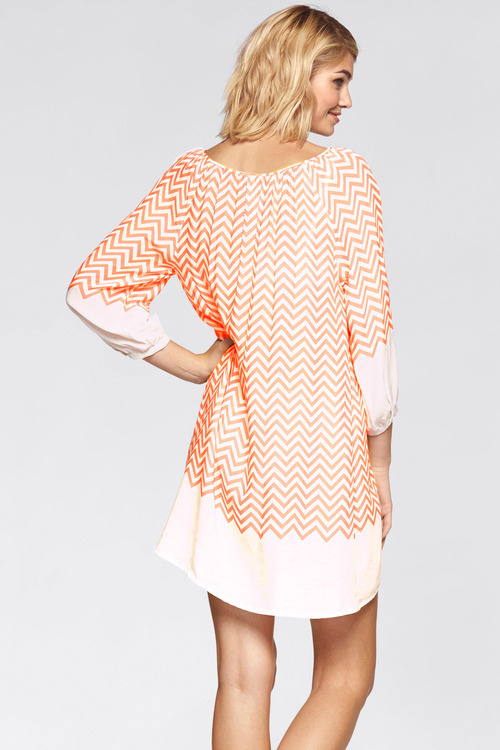Urban Chevron Tunic Dress