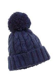 Next Cable Beanie (Younger Boys)