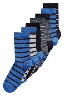 Next Stripe Socks Seven Pack (Older Boys)