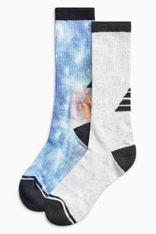Next Technical Sports Socks Two Pack (Older Boys)