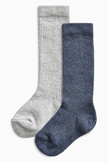 Next Knee Length Socks Two Pack (Younger Boys)