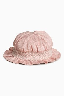 Next Ditsy Hat (Younger Girls)