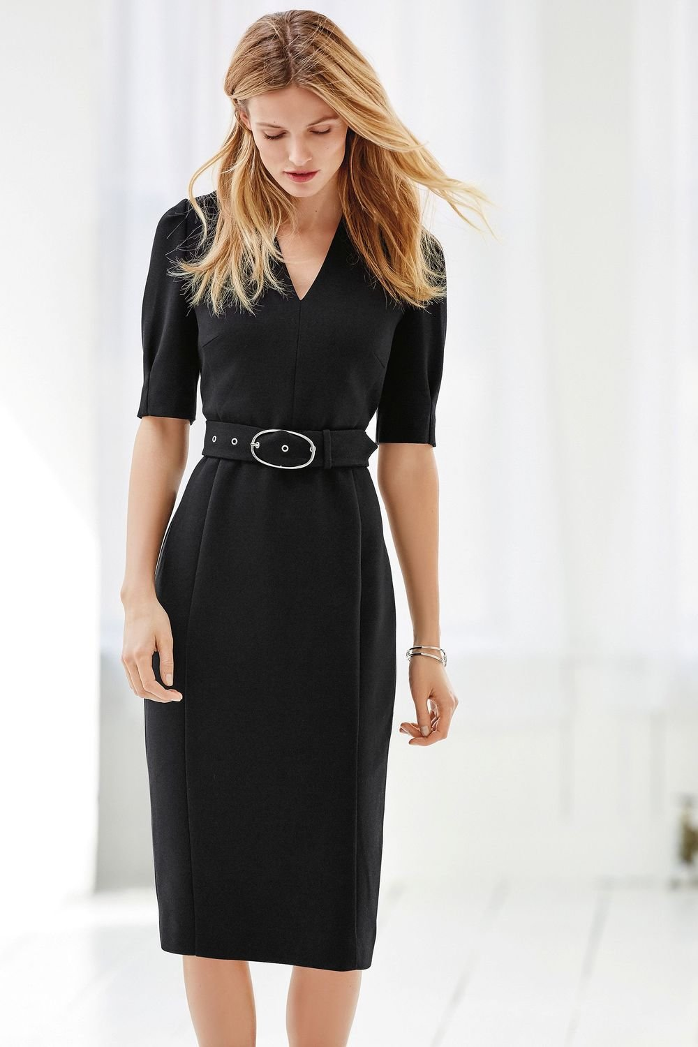 lovely design huge range of new release Next Belted Tailored Dress - Tall