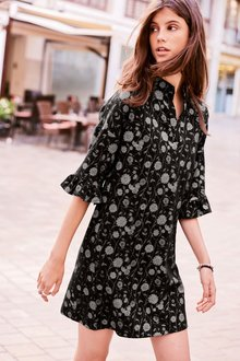 Next Floral Jacquard Dress