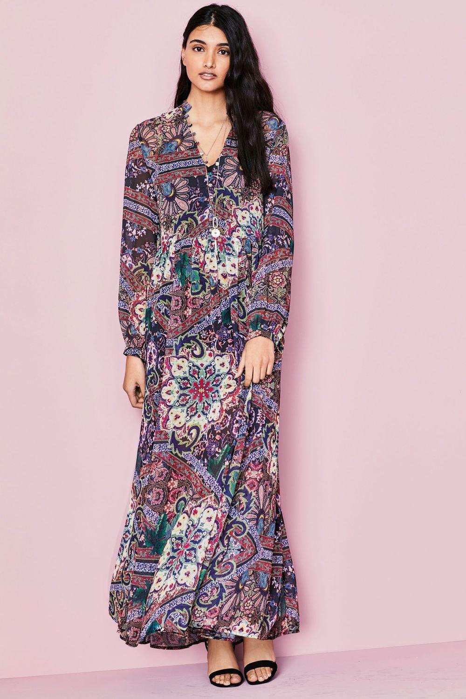 9a872d8083 Next Print Boho Maxi Dress Online | Shop EziBuy