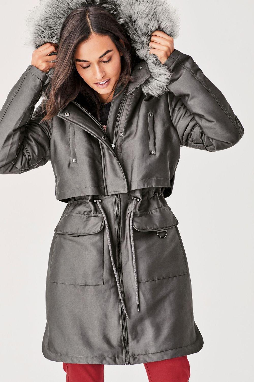 Faux Hood Fur Next Parka Shop Ezibuy Online qgwSxEdZS