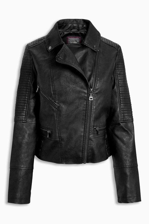 Next PU Biker Jacket