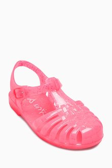 Next Glitter Jelly Sandals (Younger Girls)
