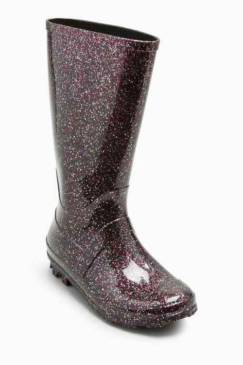 Next Glitter Wellies (Younger Girls)