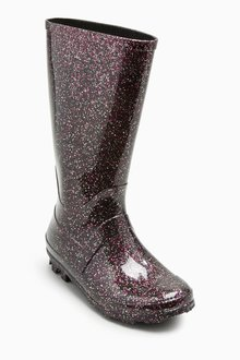 Next Glitter Wellies (Younger Girls)