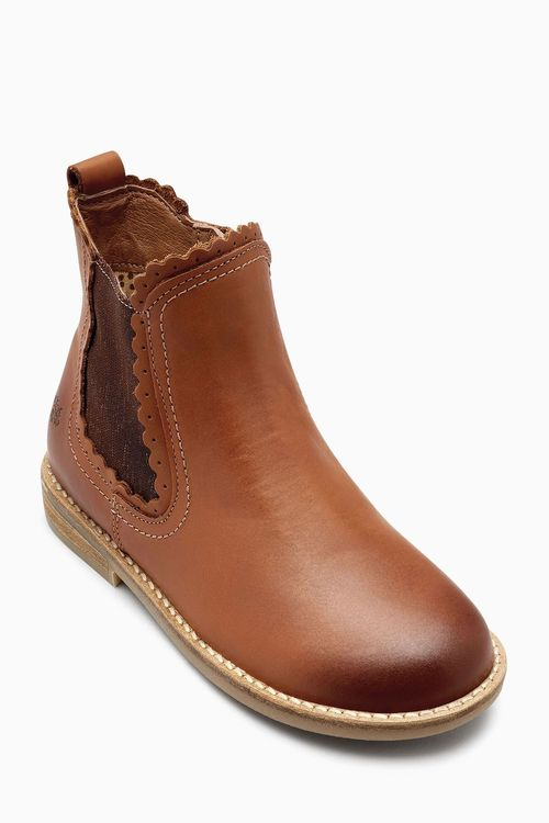 Next Scallop Chelsea Boots (Younger Girls)