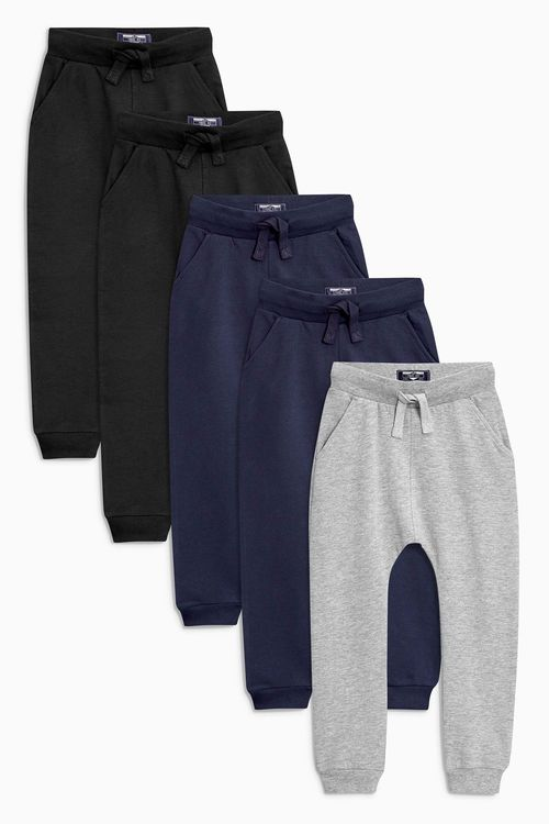 Next Super Skinny Joggers Five Pack (3mths-6yrs)