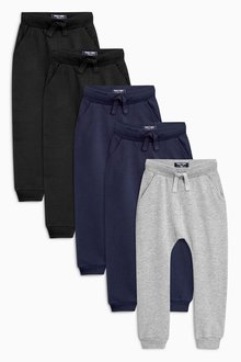 Next Super Skinny Joggers Five Pack (3mths-6yrs) - 188591