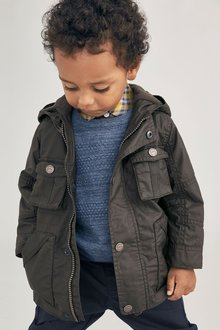 Next Cotton Coated Jacket (3mths-6yrs)