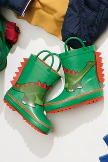 Next Dino Wellies (Younger Boys)