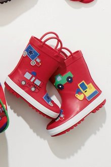 Next Car Wellies (Younger Boys)