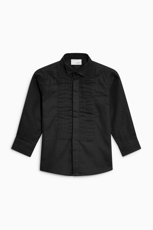 Next Long Sleeve Wing Collar Shirt (12mths-16yrs)