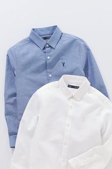 Next Long Sleeve Oxford Shirt (3-16yrs)
