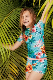 Next Feather Print Sunsafe Two Piece Set (3-16yrs)