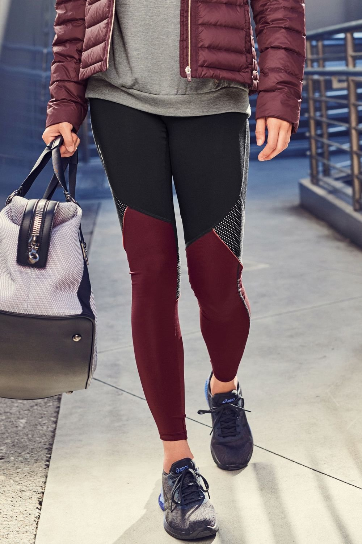 81f445db9af159 Next Colour Block Technical Full Length Leggings Online | Shop EziBuy