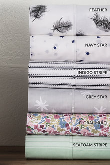 250 Thread Count Cotton Printed Sheet Set