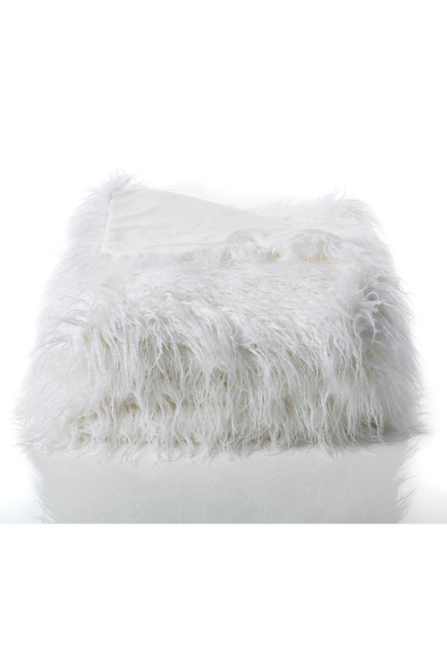 Alpine Faux Fur Throw