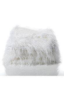 Alpine Faux Fur Throw