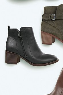 Next Casual Zip Detail Ankle Boots