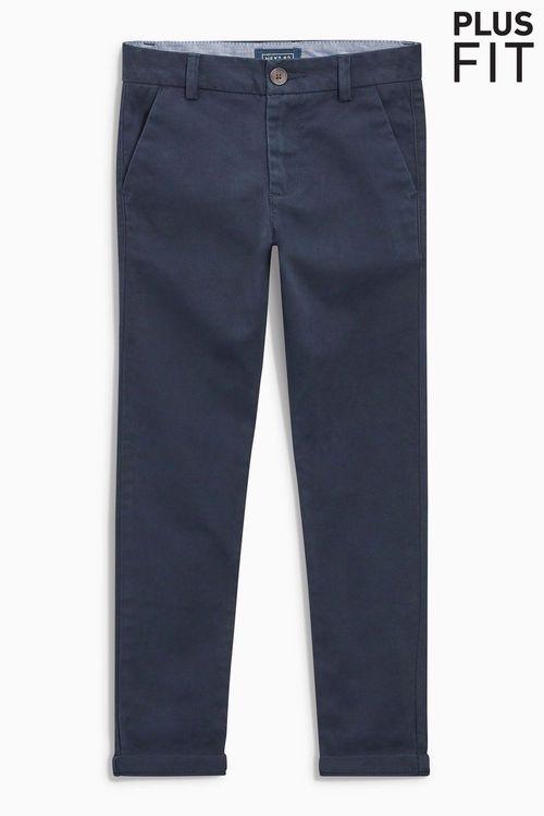 Next Skinny Chino Trousers (3-16yrs) - Plus Fit
