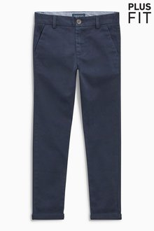 Next Skinny Chino Trousers (3-16yrs) - Plus Fit