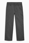 Next Flat Front Slim Fit Trousers 2 Pack (3-16yrs)