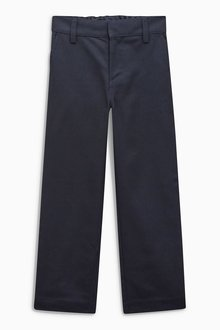 Next Flat Front Trousers (3-16yrs) - 189355