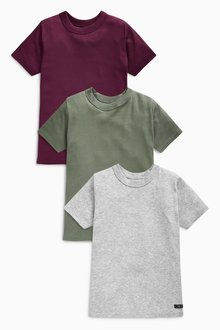 Next T-Shirts Three Pack (1.5-16yrs)