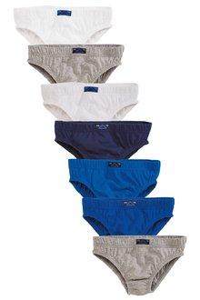 Next Blue Briefs Seven Pack (1.5-16yrs)