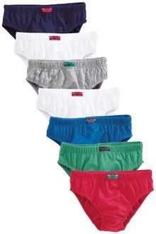 Next Multi Colour Briefs Seven Pack (1.5-12yrs)