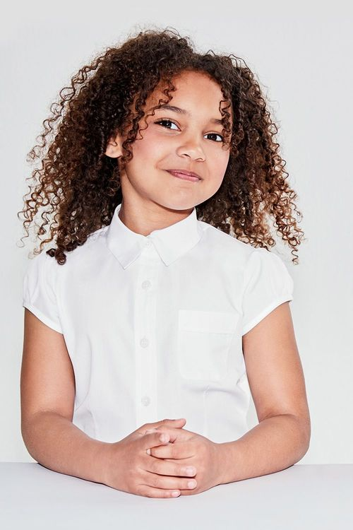 Next Puff Sleeve Blouse Five Pack (3-16yrs)