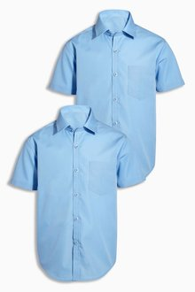 Next Short Sleeve Shirts Two Pack (3-16yrs) - 189550