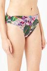 Next Printed Roll Top Bikini Briefs