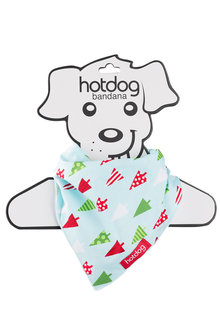 Hotdog Christmas Bandana
