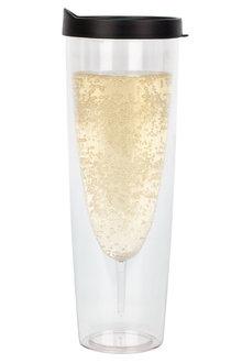 Porta-Sparkle Champagne Tumbler